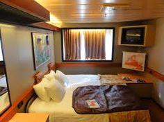 Ocean view room on Carnival Elation