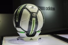 So now there's a smart ball? #tech #football #soccer