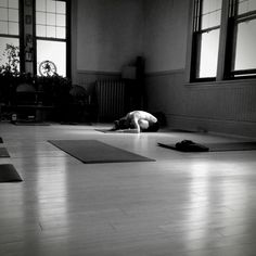 Deep rest in child's pose... physical / spiritual