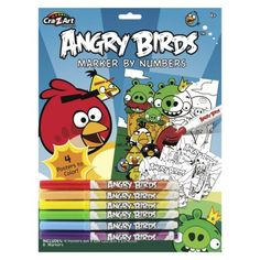 Angry Birds Marker by Number - idea