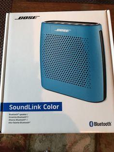 Bose Soundlink Color Wireless Speaker Bluetooth Blue New in Box