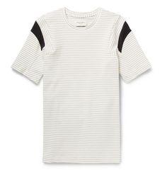 Public School Striped Cotton-Blend Jersey T-Shirt | MR PORTER