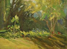 Little fig and sunlight by Susan Fuquay Oil ~ 6 x 8