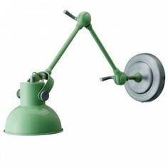 Wandlamp met scharnier groen (Bloomingville)