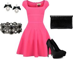 """""""simply pink"""" by kellybell4770 on Polyvore"""