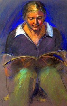 Christine reading. Susie Devenport (Australia)