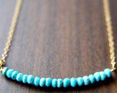 SALE Multi Tourmaline Gold Necklace