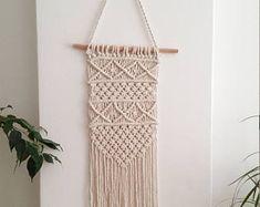 Gift Set: 3 Macrame Wall Hangings, Macrame wall hanging, woven wall hanging, woven wall tapestry, macrame wallart, macrame wall tapestries