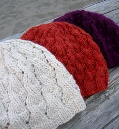 whitecaps hat (tin can knits) - toque pattern for different weights of yarn (about $4 via ravelry)