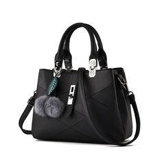 $38.16 (Buy here: https://alitems.com/g/1e8d114494ebda23ff8b16525dc3e8/?i=5&ulp=https%3A%2F%2Fwww.aliexpress.com%2Fitem%2FLOVAKIA-2016-Women-PU-Leather-Bags-Shoulder-Bag-With-Fur-Ball-Embossed-Handbag-Messenger-Bags-For%2F32706166832.html ) LOVAKIA Sweet Fashion Leather Women Messenger Bags Handbags Women Famous Brands Shoulder Crossbody Bag High Quality Tote Bag for just $38.16
