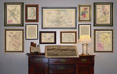 I could fill a wall with antique maps of where my ancestors are from