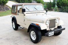 Cj Jeep, Jeep Cj7, Jeep Wrangler, Vintage Cars, Antique Cars, Goodyear Wrangler, Jeep Models, Four Wheel Drive, Barn Finds