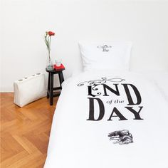End Of The Day Bed Linen 140x200, 105€, now featured on Fab.