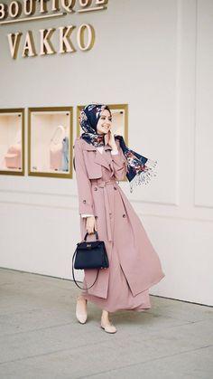 Ideas Style Hijab Casual Rok For 2019 Hijab Casual, Hijab Outfit, Hijab Chic, Hijab Dress, Dresses For Hijab, Hijab Fashion Casual, Abaya Fashion, Muslim Fashion, Modest Fashion