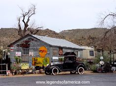 HISTORIC ROUTE 66  Ghost Towns of Route 66