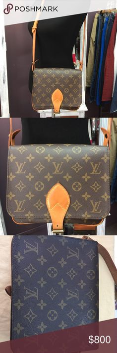 """LOUIS VUITTON Cross Body LOUIS VUITTON 😍Vintage Cross Body 😍 Approximate Measurements: 6"""" H, 8"""" W, 3"""" D Retail $1240 Date code SD0932 Please see photos for condition. NO HOLDS, NO TRADES, or NON-PM TRANSACTIONS. Louis Vuitton Bags"""