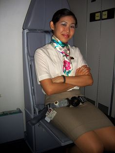Useless would be hijacker caught and securely bound and gagged by the tough Philippine Airlines female Flight Attendant. Philippine Air, Philippine Women, Become A Flight Attendant, Fort Lauderdale Airport, Happy Flight, Airline Cabin Crew, Commute To Work, Airline Flights, Flight Deck