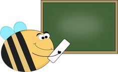 Bee Chalkboard Clip Art - Bee Chalkboard Image