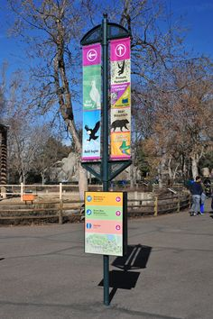 Denver Zoo –Entrance and Wayfinding | Studio Tectonic - Exhibition & Interpretive Design / Planning - Boulder/Denver Colorado