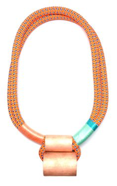 Neon Climbing Rope Ladder Necklace | LEIF