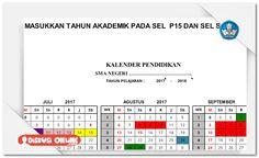 Berkas Guru Sekolah: Aplikasi Pembuatan Kalender Akademik Pendidikan Otomatis [Dokumen Pendidikan]