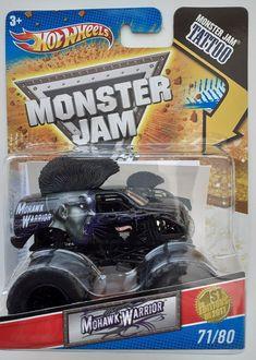 Monster Jam, Monster Trucks, Mohawk Warrior, Marvel Avengers