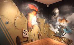 "Long Beach Museum Art Greg ""Craola"" Slimkins"