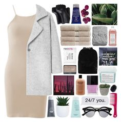 """""""i can't stop thinking about you"""" by untake-n ❤ liked on Polyvore featuring MANGO, Christy, Kiehl's, Williams-Sonoma, H&M, NYX, NARS Cosmetics, Origins, philosophy and Davines"""