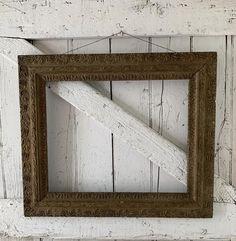 Antique ornate wooden frame carved wood gold for mirror or | Etsy Kitchen Prints, Wooden Leg, Vintage Nursery, Gold Wood, Furniture Legs, Vintage Kitchen, Wooden Frames, Picture Frames, Primitive