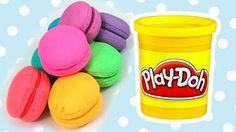 pate a modeler macaron Play Doh