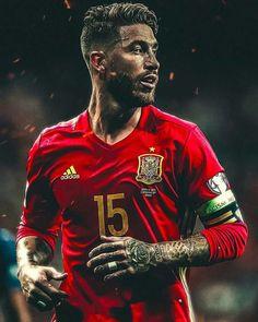 Spain National Football Team, Spain Football, Spain Soccer, Fifa Football, Football Love, Messi And Ronaldo, Cristiano Ronaldo, Football Hairstyles, Ramos Real Madrid