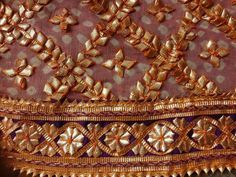 Embroidery Suits Punjabi, Hand Embroidery Dress, Pakistani Wedding Outfits, Wedding Dresses For Girls, Gota Patti Saree, Bridal Dupatta, Rajasthani Dress, Hand Work Design, Stylish Dress Designs