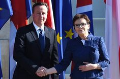 Polish Prime Minister Ewa Kopacz welcomes David Cameron   Plans for benefit reforms 'should be discussed further', Poland's prime minister Ewa Kopacz said