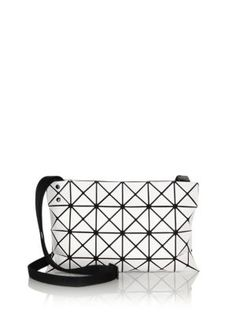 BAO BAO ISSEY MIYAKE Lucent Basic Faux Leather Crossbody Bag.   baobaoisseymiyake  bags  shoulder bags  leather  polyester  nylon   crossbody   5dde1a7e0f7fd
