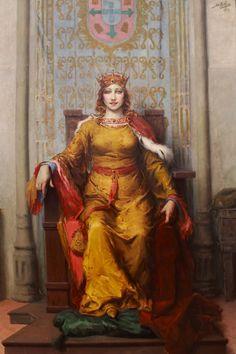 """D. LEONOR DE AVIS, ou DE PORTUGAL ou de LENCASTRE - (1458-1525) – É a princesa mais rica do seu tempo, a  terceira e última rainha consorte de Portugal nascida em Portugal, irmã do futuro Rei D. Manuel I. Pela sua vida exemplar, pela prática constante da misericórdia, e mais virtudes cristãs, alcançou, de alguns historiadores, o epíteto de """"Princesa Perfeitíssima"""", inspirado no cognome do rei seu marido e do qual teve apenas dois filhos."""