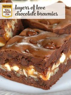 Layers of Love Chocolate Brownies