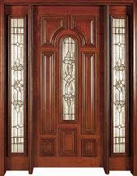 resultado de imagen para puertas principales de madera ms
