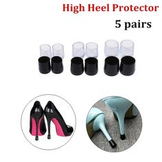 Buy 5 Pairs High Heel Protector Non Slip Cover Women Shoe Stopper at Wish - Shopping Made Fun Heel Stoppers, High Heel Protectors, Transparent Design, Fall Shoes, Wish Shopping, Walk On, Other Accessories, Slipcovers, High Heels