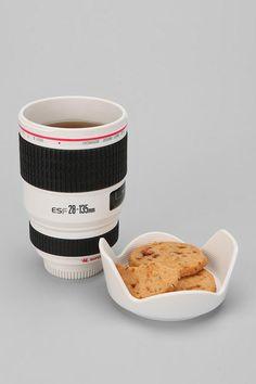 Camera Lens Mug $28.00 | Urban Outfitters