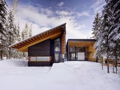 Kicking-Horse-Residence by Bohlin Cywinski Jackson and Bohlin Grauman Miller