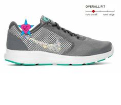 4a4020d633 Crystal Bedazzled Gray Teal Nike Revolution 3 Womens ***Nikes are authentic  and we