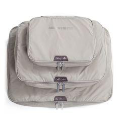 Amazon.com: LIGHT FLIGHT Lightweight 3pc Set Travel Packing Cubes: Clothing
