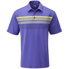 Equipped with heatgear technology this mens UA gimme chest stripe golf polo shirt by Under Armour will keep you cool and dry