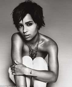 Great photo of Zoe Kravitz