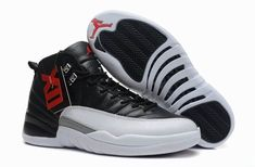 detailed look 09490 dba34 ... air jordan 12 taxi black gym black white click image to close