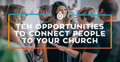 Attracting a crowd and building a church are two very different things. If you want to truly connect people into the life of the church, you need a process.