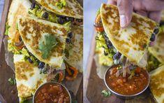 Dagen Zonder Vlees - Dag 32: quesadilla's met avocado en zwarte bonen - Food - Flair