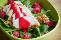 Mmm, een supergezonde salade in de Ellipse lunchbox duo!