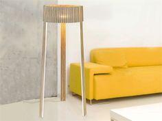 Lampadaire en bois multi-niveau Collection Shio by arturo alvarez