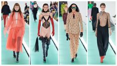 Gucci Ready to Wear – Spring 2020 - Glam News Magazine Harem Pants, Ready To Wear, Kimono Top, Magazine, Spring, How To Wear, Tops, Women, Fashion